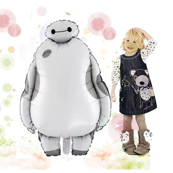 1PC Baymax Party Birthday Balloons Globo Party Favors Kids Toys for Party Decora