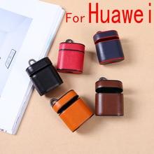 Для huawei Flypods кожаный чехол для Huavei Aipods беспроводной Bluetooth наушники чехол для Honor Airpods Fly Pod дропшиппинг