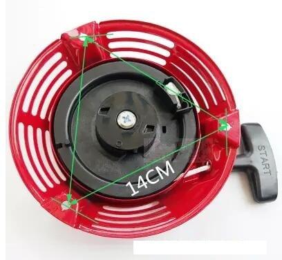 Cortador de Substituição Fit para Honda Pull Starter Recoil Start Gxv140 Hrj 216 Motor Aparador 28400-z1v-802zb 28400-ze7-003za Gxv160