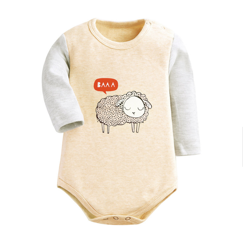 fb45bad51 Unisex baby clothes Spring winter baby Rompers long sleeve fleece jumpsuit  newborn snowsuit Baby Boy Rompers costumes for girls-in Bodysuits from  Mother ...