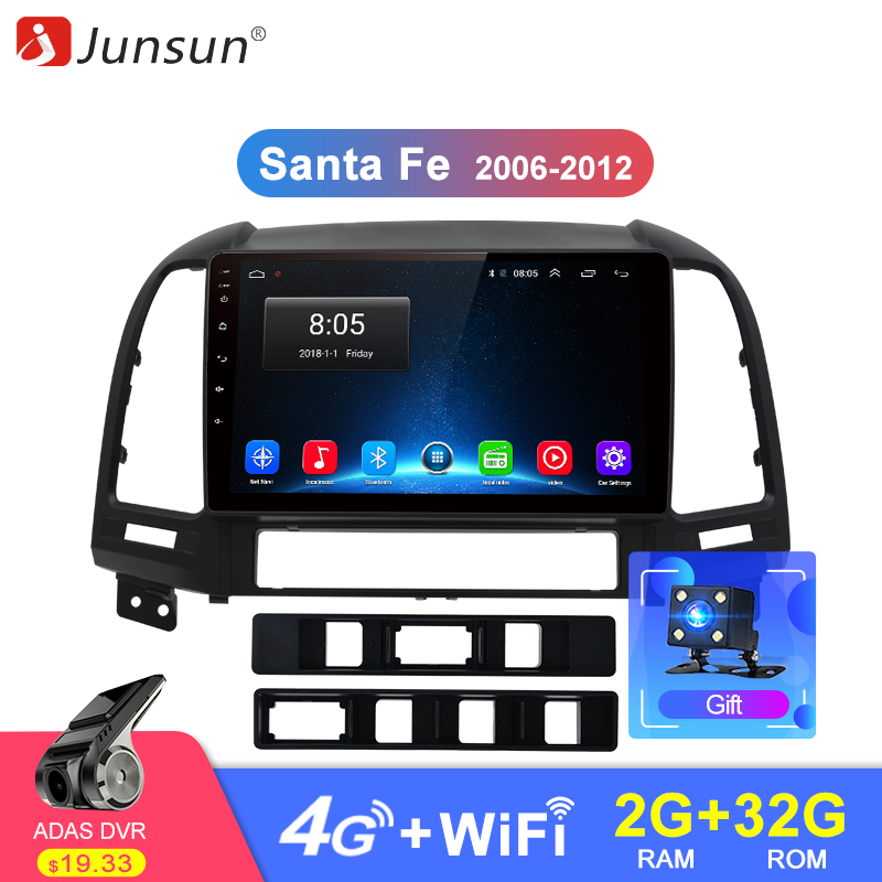Junsun 2G 32G Android 8.1 4G Car Radio Multimedia Stereo Audio Player Navi GPS 2 Din