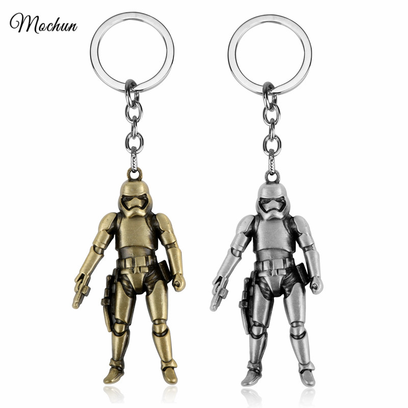 Mqchun Star Wars Stormtrooper Keychain Imperial Soldier Lucas Storm