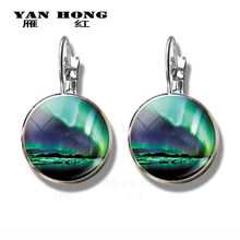 Aurora Borealis crystal earrings and night light souvenirs are the best decorations for birthday parties.(China)