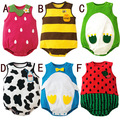 cotton 100% newborn baby clothes baby Climbing clothes baby girl boy clothes Fruit shape baby clothing set