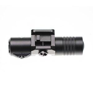 Image 5 - זרוק חינם Laserspeed מתכוונן לייזר sight עמיד למים רובה לייזר מצביע רכבת רכוב ציד לייזר