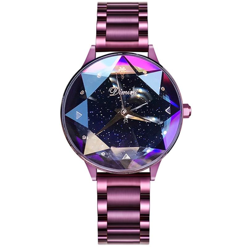 2018 Luksus Brand Lady Krystal Watch Kvinder Kjole Watch Fashion Rose - Dameure - Foto 6