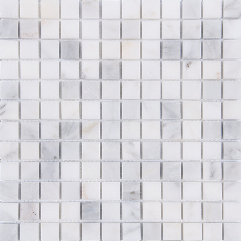 Home Improvement Square Carrara Marble Stone tiles,Kitchen Backsplash,Bathroom Shower Wall/Floor art decor,Free Shipping,LSMB102 home improvement marble stone mosaic tiles natural jade style kitchen backsplash art wall floor decor free shipping lsmb101