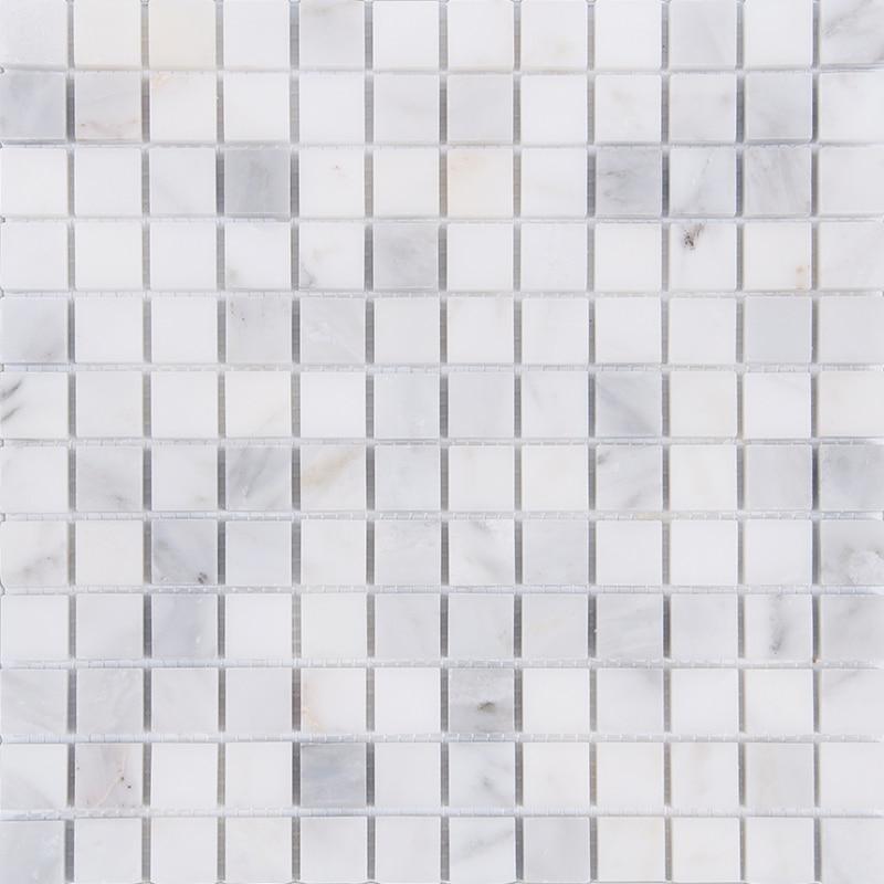 Home Improvement Square Carrara Marble Stone tiles,Kitchen Backsplash,Bathroom Shower Wall/Floor art decor,Free Shipping,LSMB102 home improvement marble stone mosaic tiles natural jade style kitchen backsplash art wall floor decor free shipping lsmb101