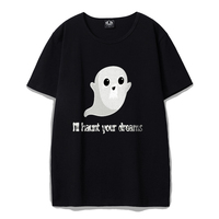 Rocksir Funny Cute Ghosts In Day Demon At Night Printed T Shirts Men Creative Men S