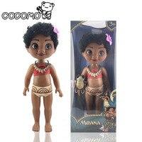 12 Pulgadas Princesa Moana Modelo De Plástico con Música Bebé Grande Amina, Gente, Modelo modelo de Dibujos Animados para La Niña Bebé Cumpleaños regalos