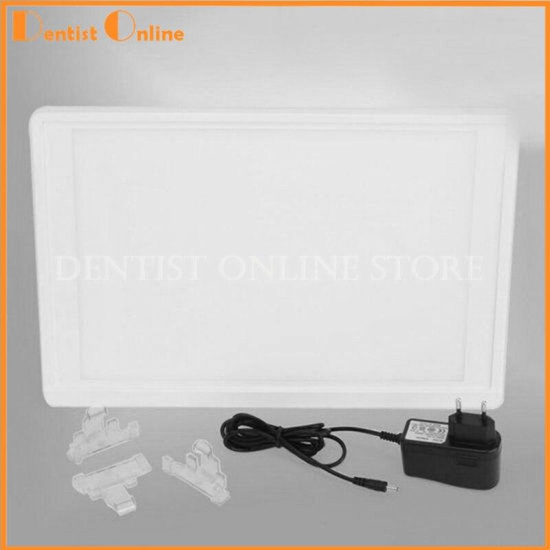 Dental X-Ray Film Illuminator Light Box X-ray Viewer LED Light Panel dental x ray complete film positioning system positioner holders locator