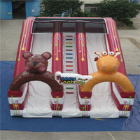 inflatable slide playground