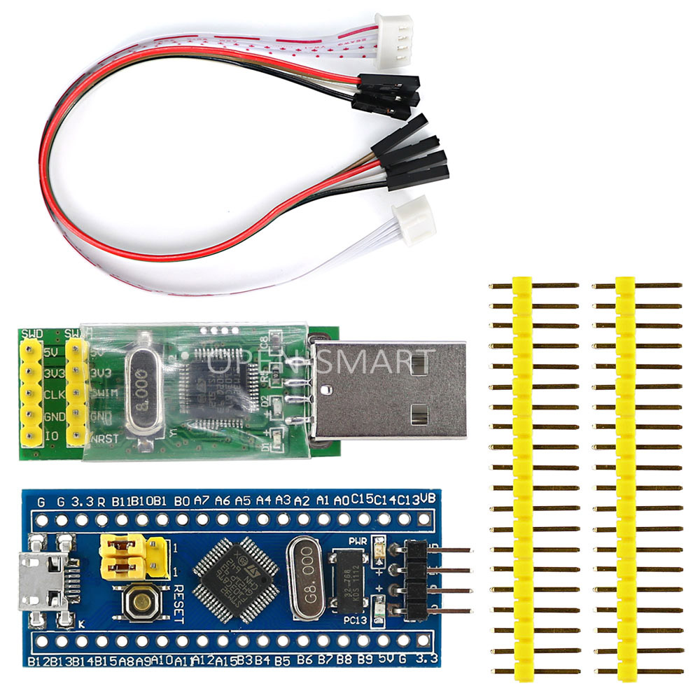 Cortex-M3 STM32F103C8T6 STM32 Conseil de Développement w/SWD Socket + ST-LINK V2 stlink Télécharger Programmeur Émulateur