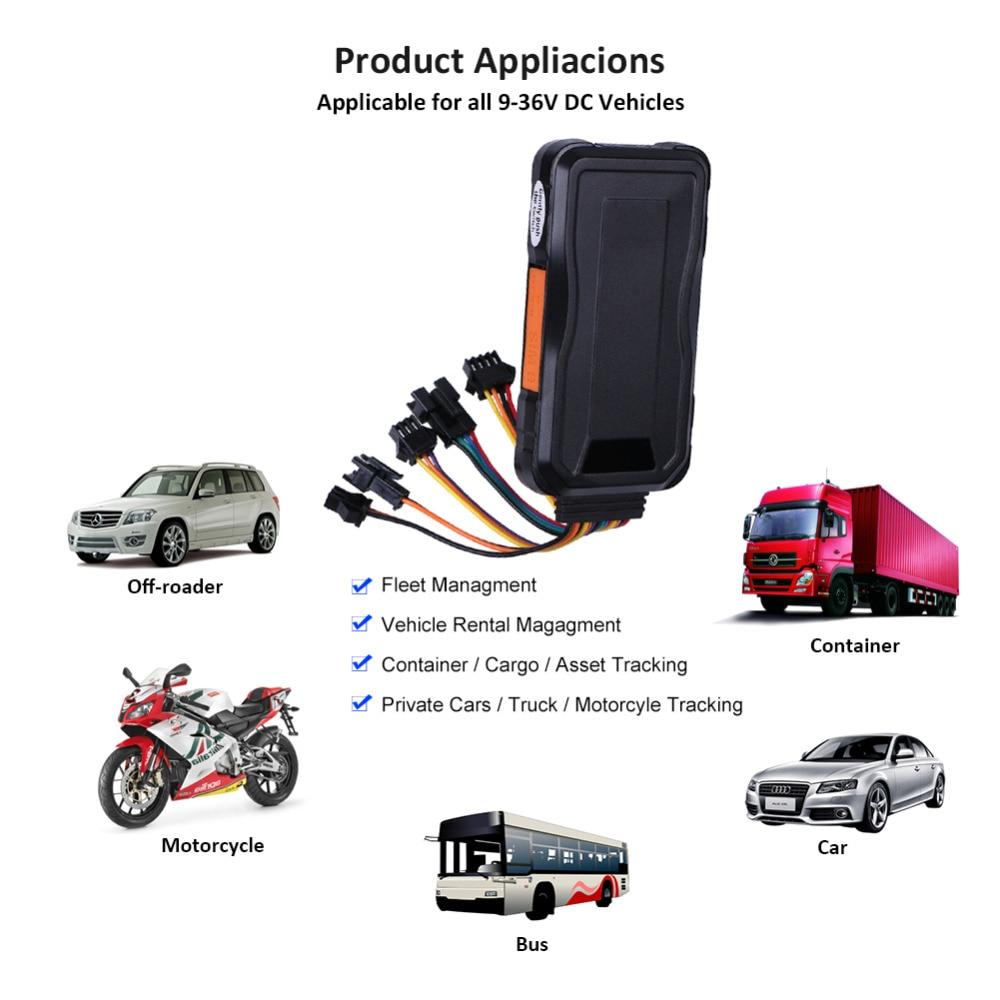 Dispositif de suivi de voiture traqueur GPS 3G Concox GT06E huile coupée localisateur GPS moniteur vocal étanche kilométrage alarme de Vibration APP Web - 2