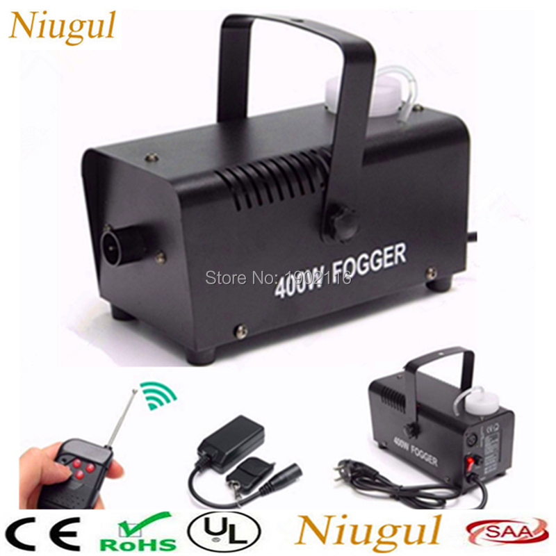400W Portable Christmas and Party Fog Machine with Wireless Remote Control for Holidays, BAR,Wedding 400W Fogger Smoke machine
