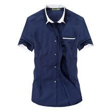 senlinJeep brand men's new summer short sleeved shirt, men's casual slim short sleeved shirts
