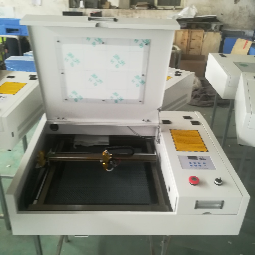 HTB1GPsGXzzuK1RjSspeq6ziHVXax - 4040 laser engraving and cutting machine with 50w CO2 laser tube and gold laser head deliver by DHL or TNT or fedex to your door