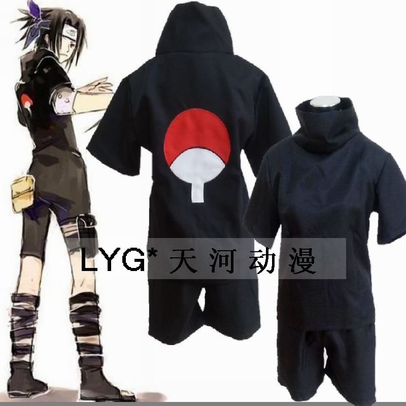Popular Sasuke Black Costume-Buy Cheap Sasuke Black ...