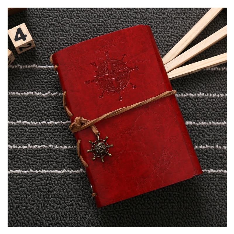 Acheter Top qualité Feuille Vintage voile Journal Notebook Journal En Cuir Blanc String Couverture qualité Relié Souple Copie livres de l'ordre du jour de agenda books fiable fournisseurs