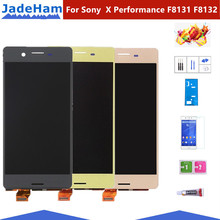 5.0 Original Assembly Replacement For Sony Xperia X Performance F8131 F8132 LCD Display Touch Screen with Digitizer Assembly 4 6 white or black for sony xperia z3 mini compact d5803 d5833 lcd display touch digitizer screen assembly sticker