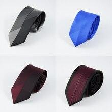 GUSLESON новые мужские галстуки на заказ Брендовые мужские полосатые галстуки в горошек Hombre 6 см Gravata Тонкий Галстук Классический Бизнес Повседневный галстук для мужчин