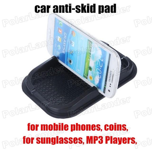Para móviles monedas lavable tiene objetos en Dash coche antideslizante Mat antideslizante Car Dashboard Sticky Phone Pad Mat Skid prueba