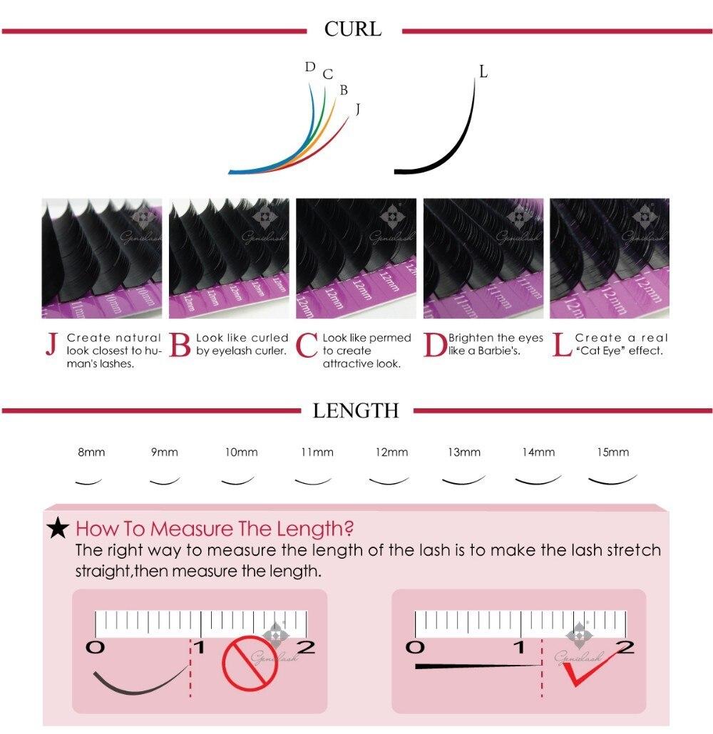 de escolher pacotes de cílios 3d para