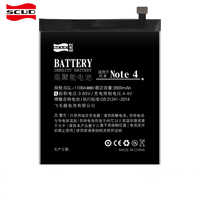 SCUD Battery For Redmi Note 4 BN41 Real Capacity 3900mAh With Retail Package Free Repair Machine Tools