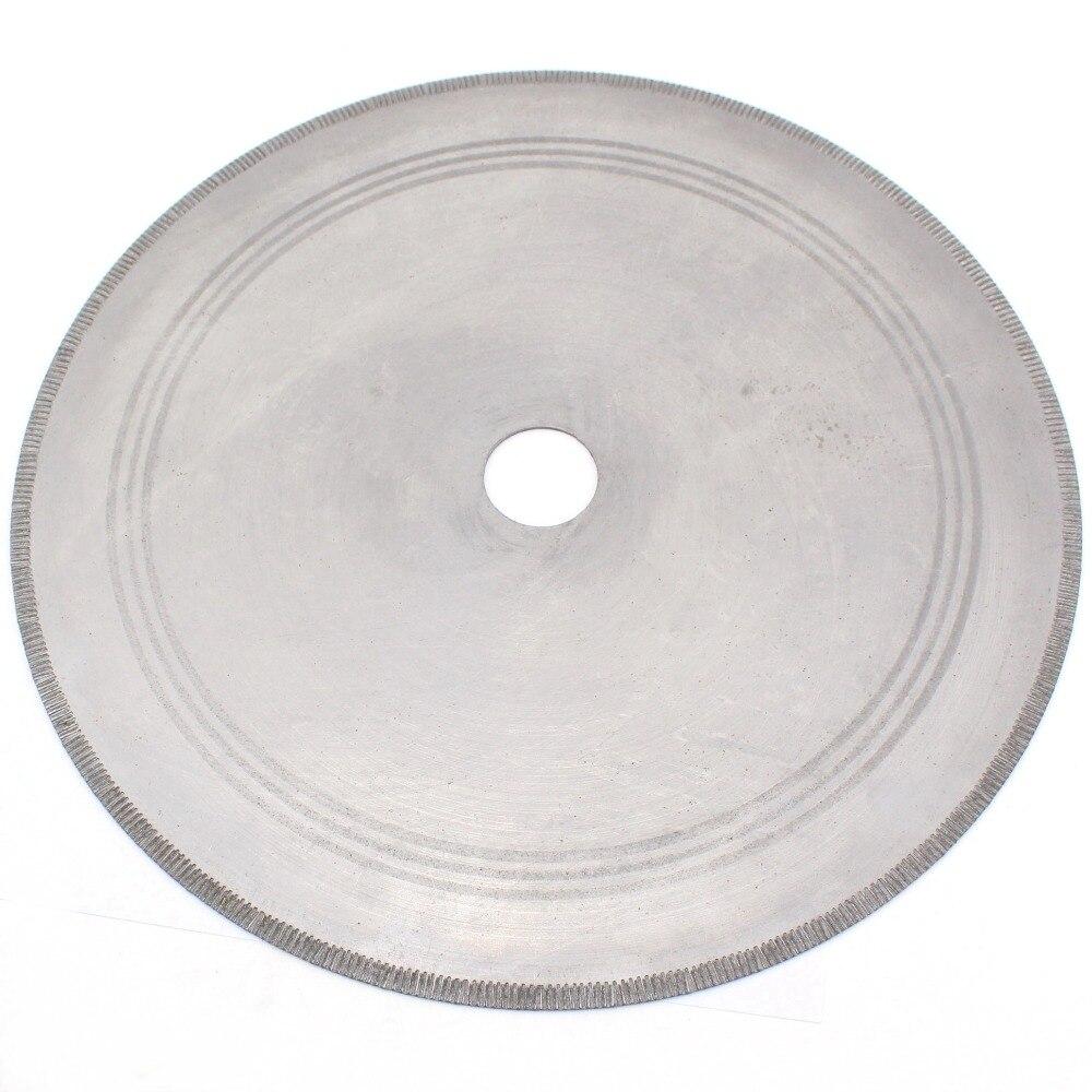 цена на 14 inch 350 mm Notched Rim Diamond Lapidary Saw Blade Hole 1 3/4 Jewelry Tools for Stone Cutting Gemstone Rock Slab Jasper