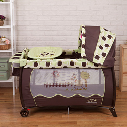 Hot sell eco friendly multifunctional folding baby crib infant baby bed portable play sleeping game bed.jpg 250x250