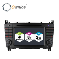 4G SIM LTE Quad Core 2 DIN Android 6 0 Car DVD GPS For Mercedes W203