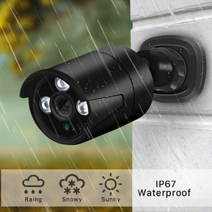 Image 4 - BESDER 1080/720p מלא HD IP מצלמה Bullet חיצוני עמיד למים אבטחת מצלמה ONVIF XMEye 20m ראיית לילה תנועה לזהות RTSP P2P