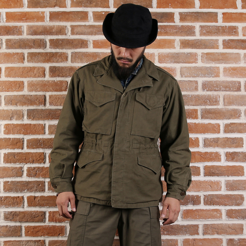 Бронсон Реплика армии США M 43 Полевая куртка WW2 военная форма пальто для Для мужчин M65
