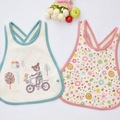 2 pcs/lot New Baby Bib Towels Baby Waterproof Bibs Newborn Wear Cartoon Accessories Free Shipping