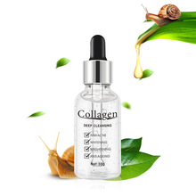 Face Collagen Serum, Snail Recovery Brightening Serum and Anti-Wrinkle Skin Tightening and Whitening Improvement