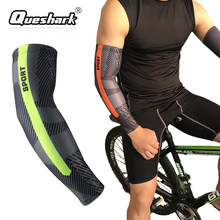 f26c775ca9 1Pcs Men Women UV Protection Basketball Arm warmers Compression Cycling Arm  Sleeve Sports Bike Golf Elbow Pads Running Arm Cover