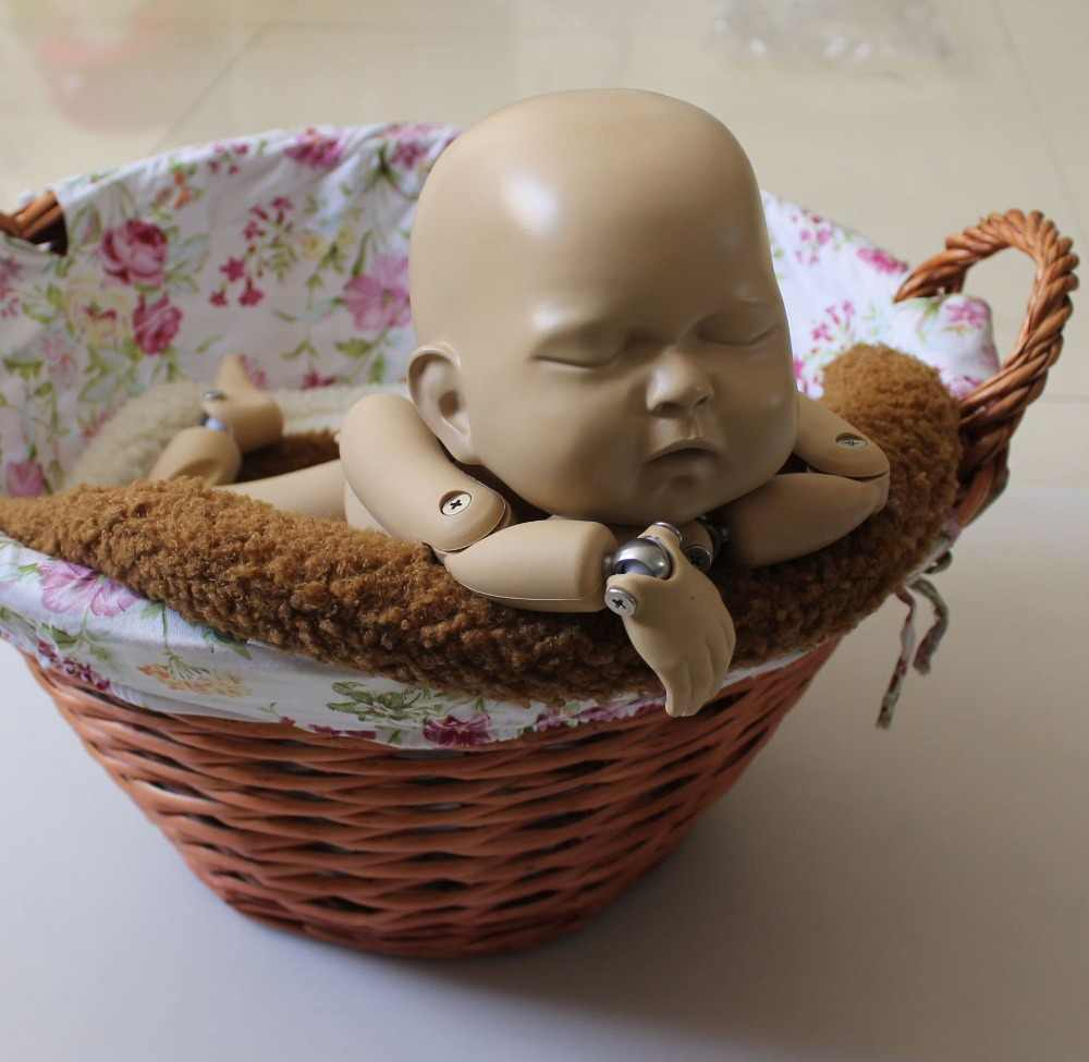 Baby photo props newborn photoshoot blanket bucket basket stuffer filler baby posing cusion kids photography studio