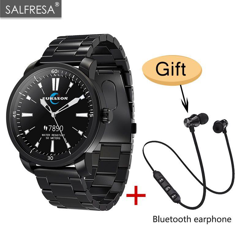 H2 smart watch passo a passo WeChat telefone lembra 50 metros à prova d' água de esportes ao ar livre relógio inteligente pulseira de natação