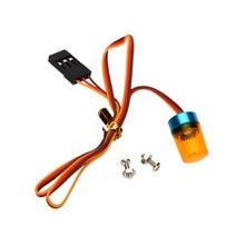 GoolSky AX 511 RC 다기능 원형 울트라 브라이트 RC 자동차 LED 라이트 스트로브 블라스팅 깜박임 고속 회전 모드