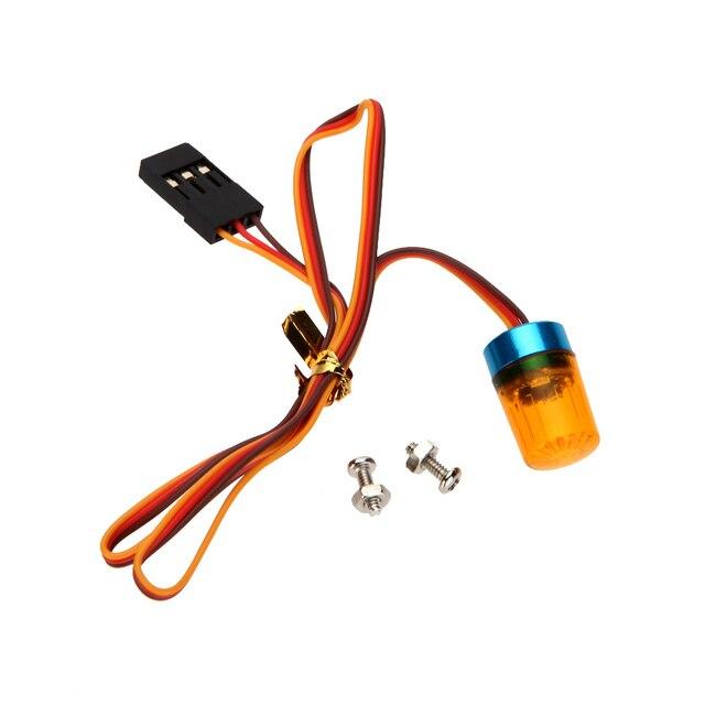 GoolSky AX 511 RC multifunción Circular Ultra brillante RC coche LED parpadeante luz estroboscópica rápido modo giratorio lento