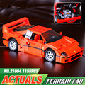 NEW LEPIN 21004 F40 Sports Car1 158pcs Model Building Kits Blocks Bricks Toys Christmas Boys gift 10248