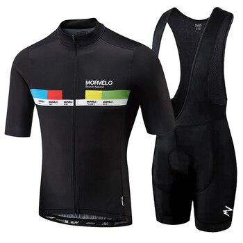 bd81ceda891 Майо Новый abbigliamento ciclismo estivo 2018 велосипедная форма наборы  короткий рукав нагрудник шорты для женщин для мужчин летние Майо