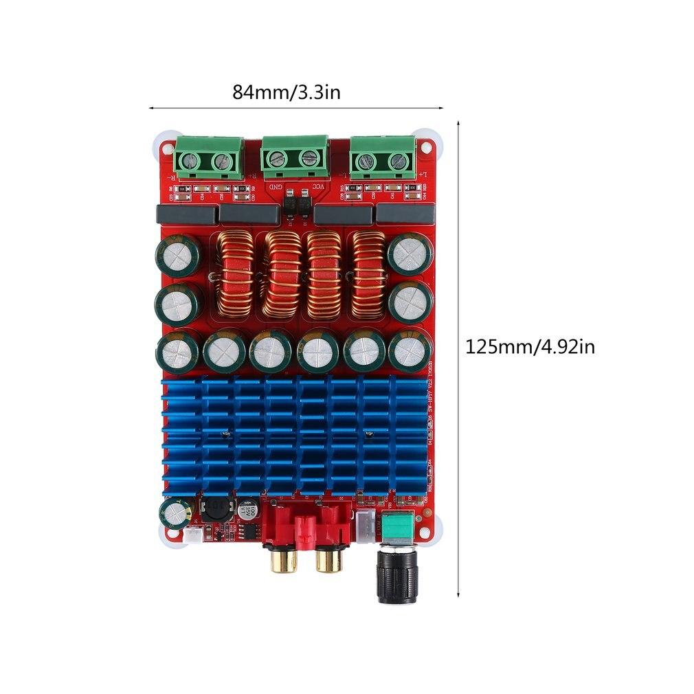 TAS5630 Stereo 2x300w High Power Hifi Digital Power Amplifier Board Fever High Fidelity Hf17 Durable(China)