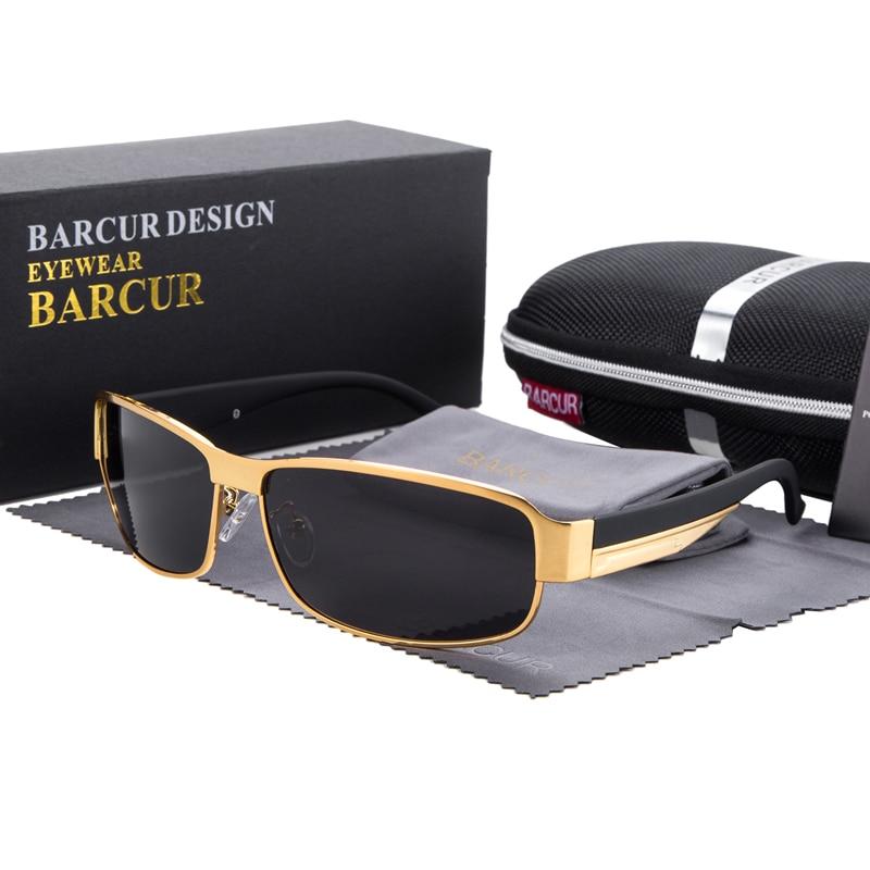 Syzet e diellit BARCUR për drejtimin e syzeve për burra Dielli për - Aksesorë veshjesh - Foto 4