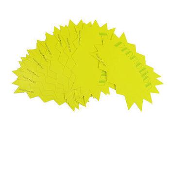 10 sztuk promocja supermarketów promocja drukowane podpory reklamowe Pop cena tagi żółty zielony tanie i dobre opinie Flip chart oze19921102 12 5 x 7cm 4 9 x 2 8 (L*W)