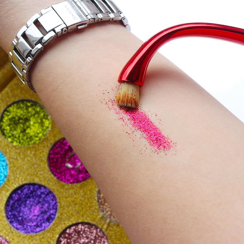 IMAGIC 12 Color Glitter-injektiot Puristetut kiillotukset Yhden - Meikki - Valokuva 6
