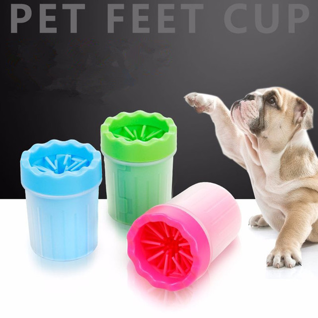 Aliexpress Com Buy 2 Sizes Portable Pet Foot Washer Cup Soft