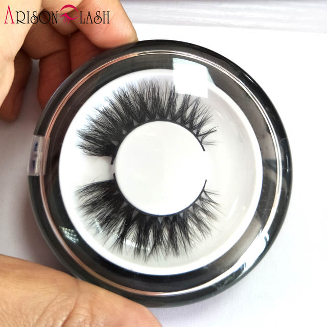 6269616bd19 Online Shop Arison Sexy 100% Handmade 3D Mink Full Strip Lashes Beauty  Thick Long False Mink Eyelashes Fake Eye Lashes Eyelash Round Box |  Aliexpress Mobile
