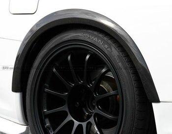 Style De Voiture Pour Nissan R34 RTM Supérieure AC Style FRP Fiber De Verre Élargisseurs D'ailes 4 Pièces En Fiber De Verre Corps Kit De Roue De Course Garniture
