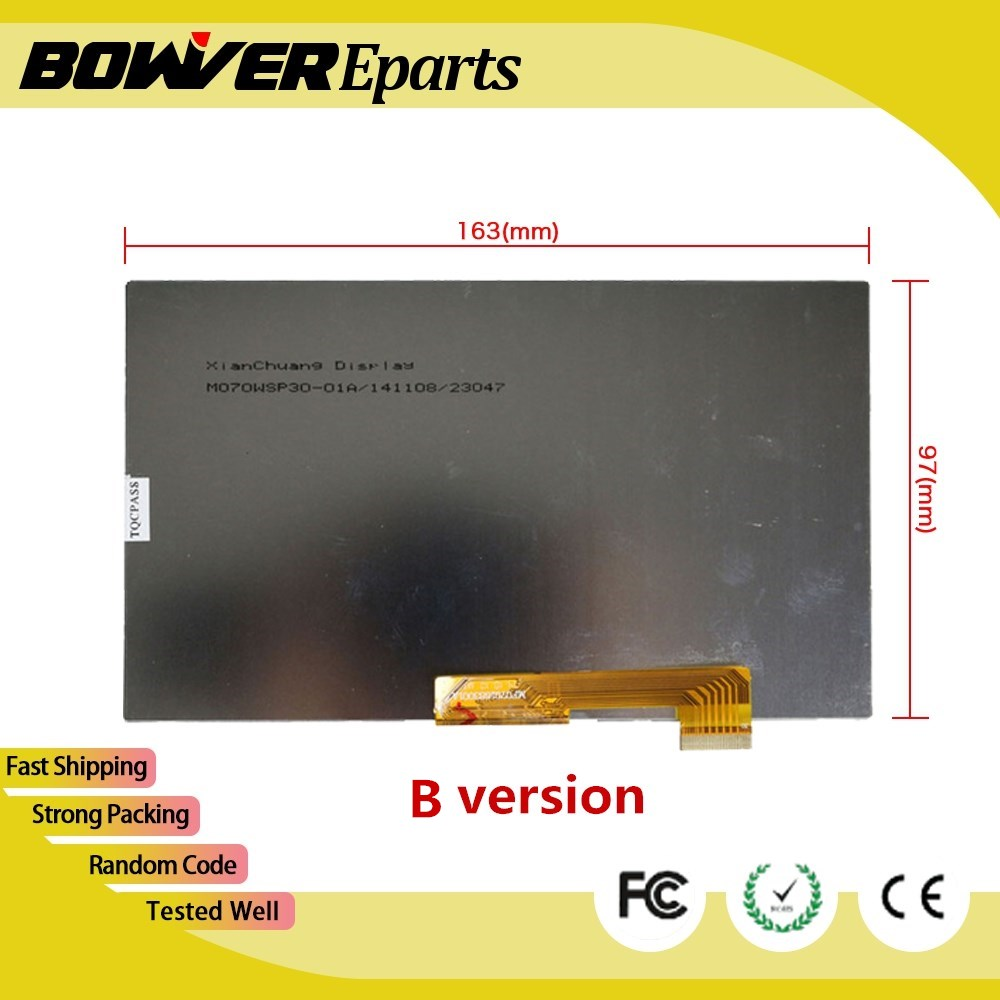 ^ A+ 164* 97mm LCD touch and display Matrix For Explay Hit 3G Tablet inner TFT LCD Screen Module Glass Replacement Second hand цена